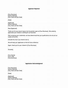 Decline Letter Invoice Rejection Letter Invoice Template Ideas