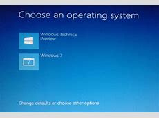 How to Dual Boot Windows 10 with Windows 7, 8, or 8.1?