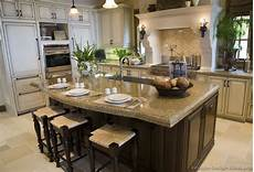 kitchen photos with island pictures of kitchens traditional white antique