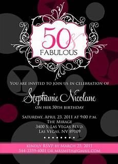 50th Birthday Invites Templates Free Printable 50th Birthday Invitations For Women