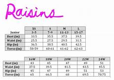 Simpson Swim Size Chart Swimstyle Fit Guide Size Charts By Brand