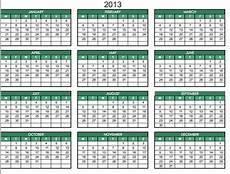 Calendar 2013 Template Excel 2013 Printable One Page Excel Homedesignpictures