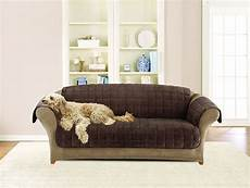 Sure Fit Deluxe Sofa Cover 3d Image by Sure Fit Deluxe Sofa Cover Chocolate Chewy