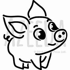 Pig Stencil Printable Amazon Com A5 Cute Pig Wall Stencil Template