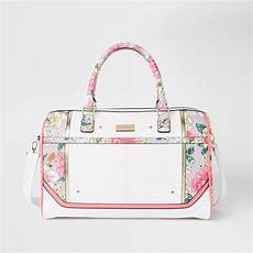 Bag Light Pink Light Pink Floral Weekend Bag Suitcases Bags Amp Purses