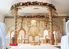 om creatives leading wedding mandaps in london