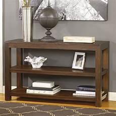 signature design by grinlyn rectangular brown sofa