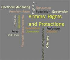 Constitutional Protections For Persons Accused Of Crime Chart Victims Pretrial Release Rights And Protections
