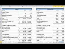 Common Size Financial Statements Financial Statement Analysis 1 Common Size Statements