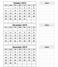3 Month Calendar 2020 3 Month Calendar Printable July August September 2020