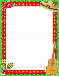 Fiesta Border Template Printable Cinco De Mayo Border Free Gif Jpg Pdf And