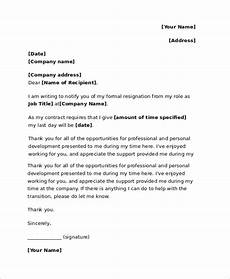 Resignation Letter It Professional Free 18 Sample Resignation Letter Templates In Pdf Ms Word
