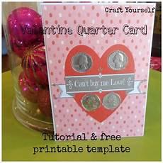 Quarter Card Quarter Card Tutorial Amp Free Printable Template