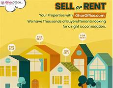 List Your Home For Rent List Your Property At Gharoffice Com And Sell Or Rent Your