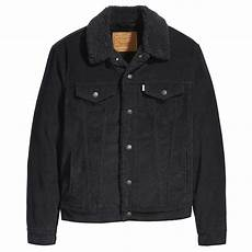 levis jackets and coats levis type 3 sherpa s jacket black cord jean