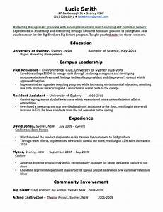 Sample Resume Word Cv Template Free Professional Resume Templates Word