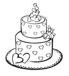 wedding cake black and white drawing at getdrawings com