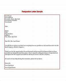 Resignation Letter Layout Free 8 Sample Formal Letter Layout Templates In Ms Word Pdf