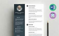 It Cv Template Word Resume Template Word Doc Docx And Psd Formats
