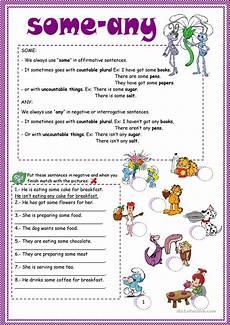 some and any worksheet free esl printable worksheets