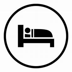 bed sleep icon transparent png svg vector file