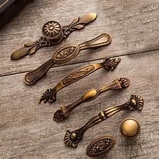 yellow bronze door handles noble antique drawer pulls