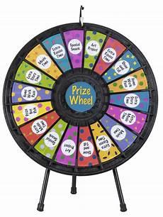 Diy Prize Wheel Prize Wheel 18 Slot W Noisy Clicker And Printout Slots