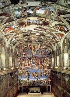 fresco renaissance the sistine chapel with frescos by the greatest italian