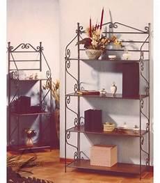 etagere ferro etagere libreria scaffale in ferro battuto con ripiani in