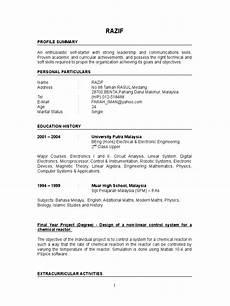 Newly Graduate Resume Sample Fresh Graduate Resume Sample
