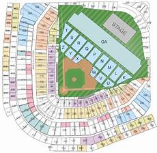 Wrigley Field Concert Seating Chart Dead And Company Dead And Company Wrigley Field Tickets June 30 2017 At 7