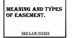 Easement Of Light And View Meaning And Types Of Easement Srd Law Notes