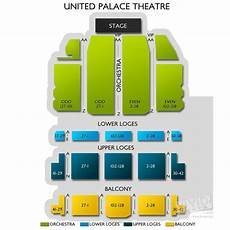 United Palace Theater Seating Chart United Palace Theatre Tickets United Palace Theatre