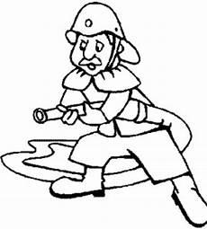 alter feuerwehrmann ausmalbild malvorlage feuerwehr