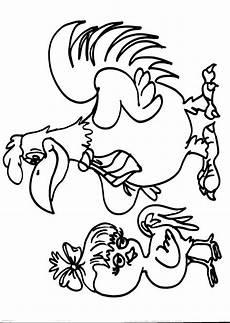 animali da cortile da colorare disegno gallina da colorare disegno pulcino da colorare
