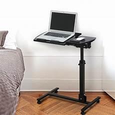langria mobile desk angle height adjustable rolling table