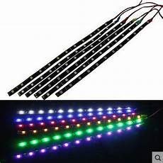 Led Daytime Running Lights Strips Waterproof Car Auto Decorative Flexible Led 12v 90cm