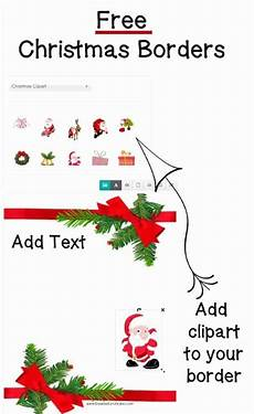 Free Christmas Clipart Borders Printable Free Christmas Border Templates Customize Online Then