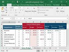 Make A Schedule In Excel Tips Amp Templates For Creating A Work Schedule In Excel