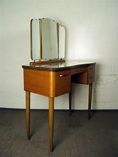mid century swedish modern dressing table vanity with