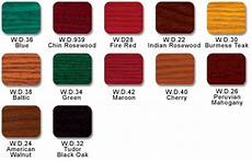 Lockwood Dyes Color Chart Wood Work 20130516