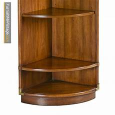 corner cabinet caign style drexel heritage accolade