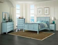 Coastal Bedroom Furniture Monaco Casual Bedroom Collection Bleu Sea Winds
