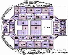 World Arena Detailed Seating Chart Seating Charts Broadmoor World Arena