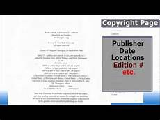 How To Find A Publisher Finding Citation Info Books Youtube