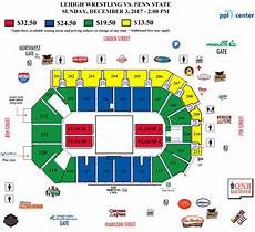 Msg Wrestling Seating Chart Lehigh University Wrestling Ppl Center