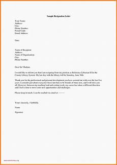 Professional Resignation Professional Resignation Letter Template Samples