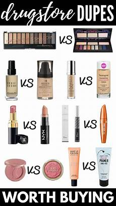 makeup dupes the best makeup dupes 12 drugstore dupes for high end