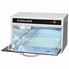 white and black single wall uv sterilizer cabinet