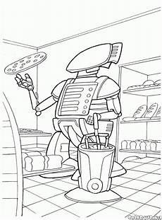 malvorlagen roboter
